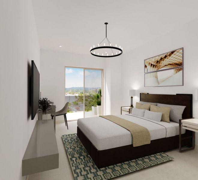 Master Bedroom View - Ocean View unit - Pavilion Bucerias - Ribiera Nayarit Mexico