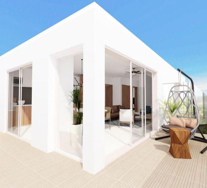 Wraparound Terrace - Ocean View unit - Pavilion Bucerias - Ribiera Nayarit Mexico